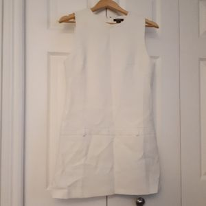 Forever 21 White Mini Mod GoGo Dress